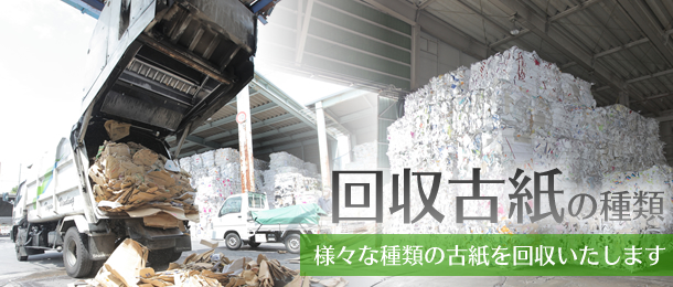 回収古紙の種類