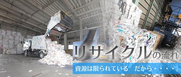 リサイクルの流れ